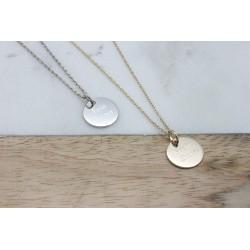 Collier Petite Médaille - Argent