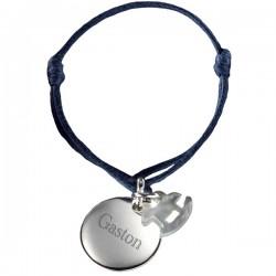 bracelet médaille cheval