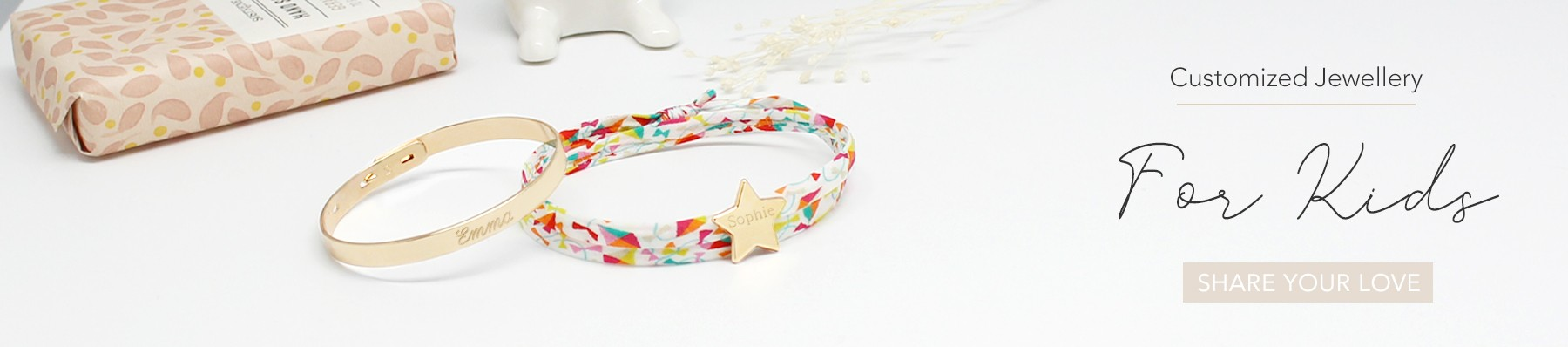 Customized jewellery for kids