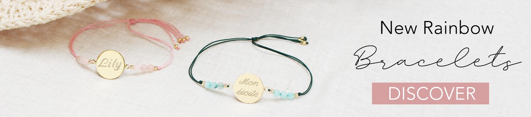New rainbow bracelets